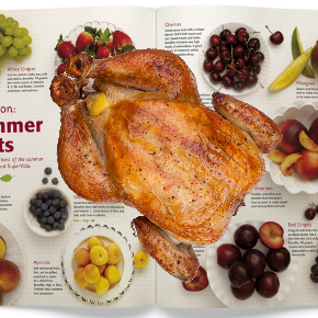 Upcoming Interactive Spork Issue to Include Entire Rotisserie Chicken in Centerfold